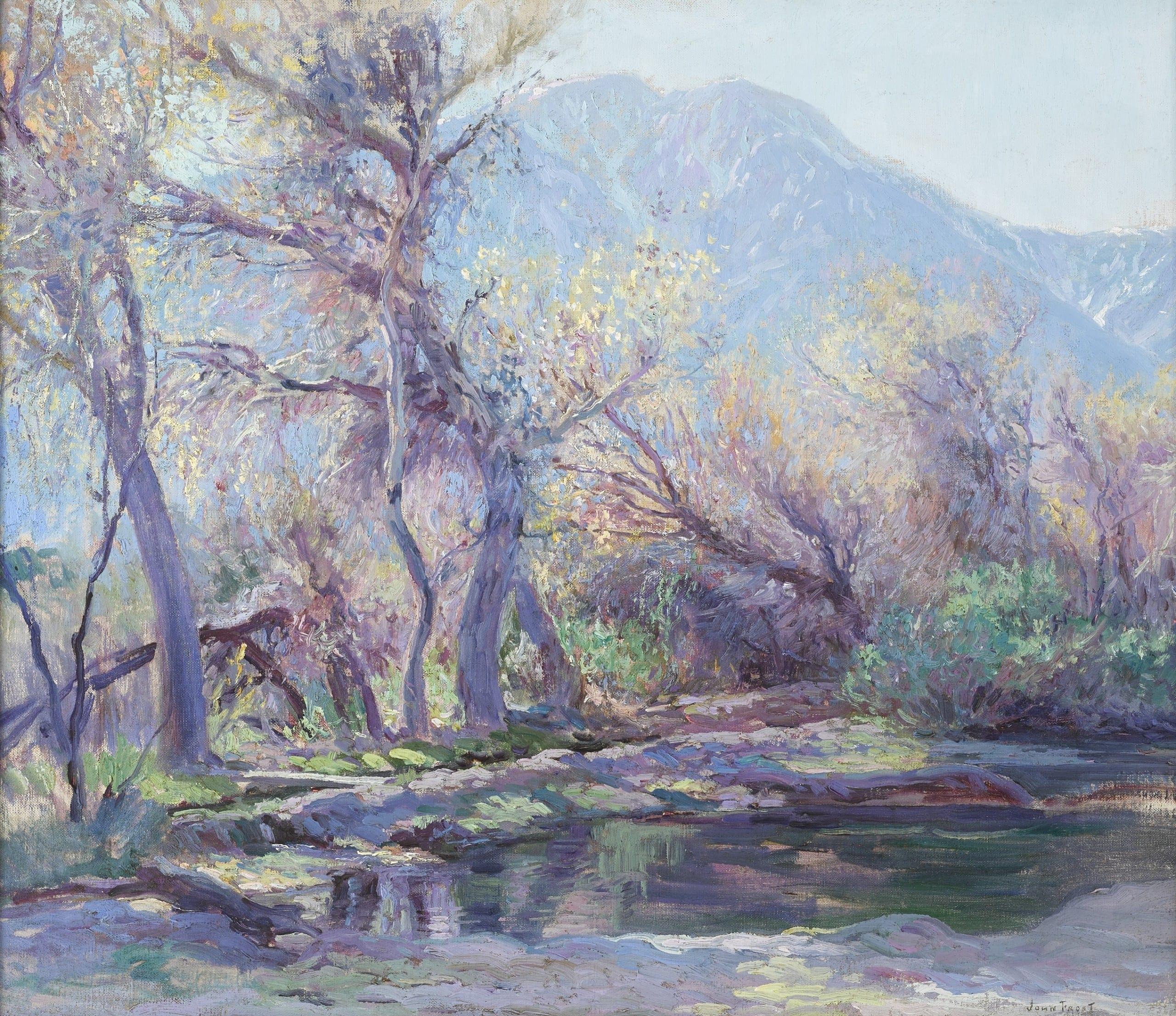 John Frost (1890-1937) San Jacinto Mountain